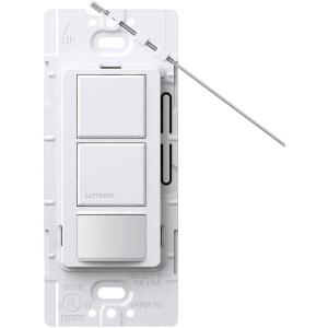 Maestro Dual Circuit Motion Sensor switch, 6-Amp, Single-Pole, White