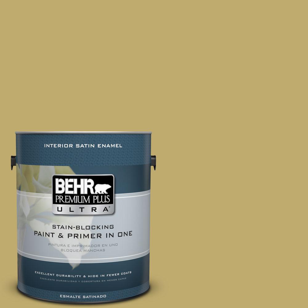 1-gal. #M310-5 Chilled Wine Satin Enamel Interior Paint