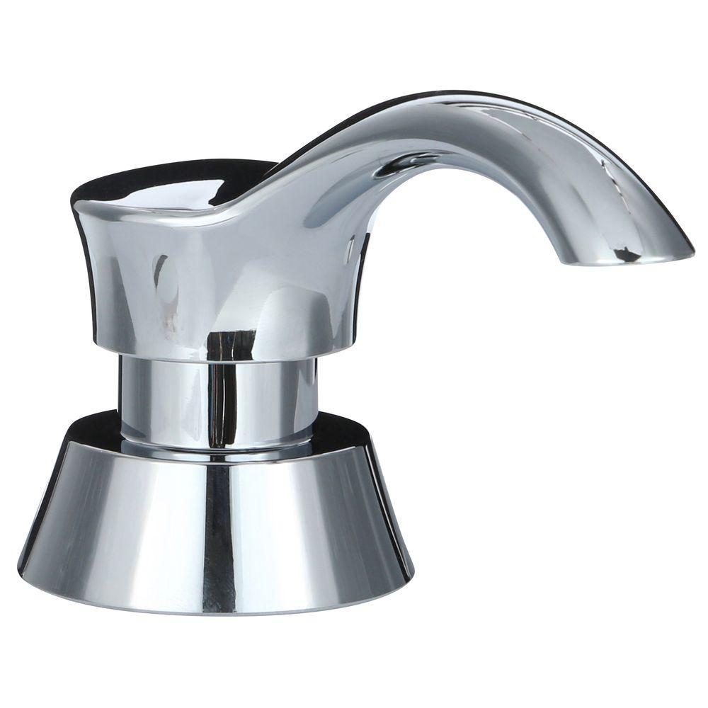 Pilar Soap Dispenser in Chrome
