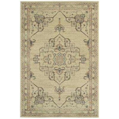 Antiquity Neutral 10 ft. x 12 ft. Area Rug