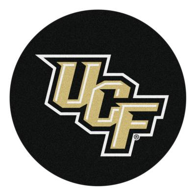 NCAA University of Central Florida 27 in. Round Puck Mat Area Rug