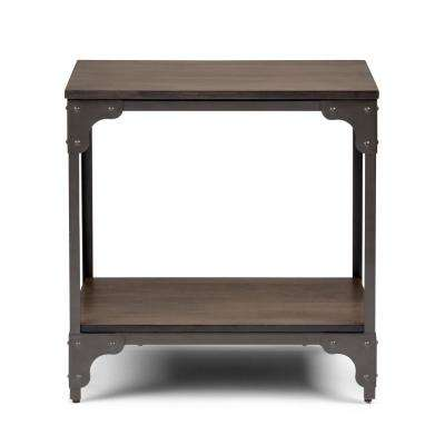 Nantucket Walnut Brown End Table