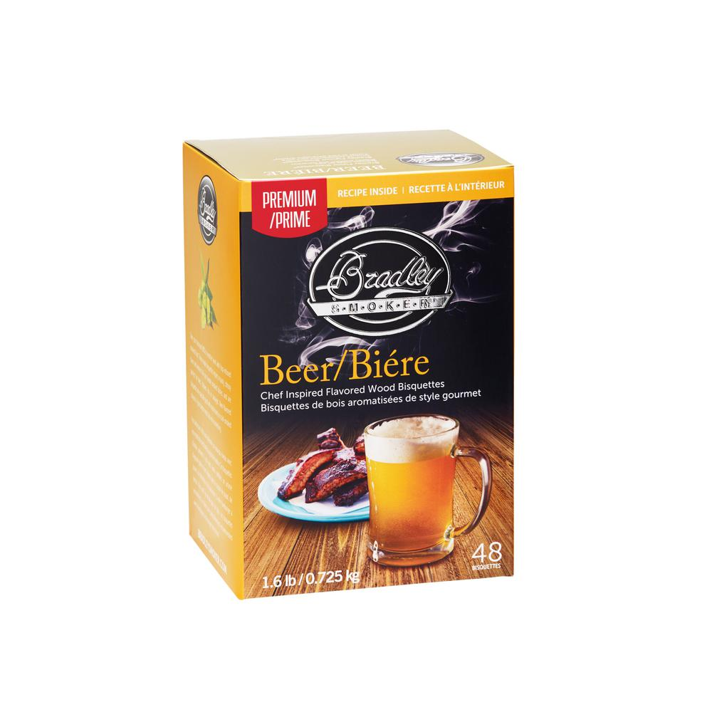 Premium Beer Bisquettes (Box of 48)