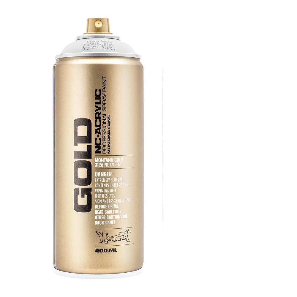 13 oz. GOLD Disco White Spray Paint