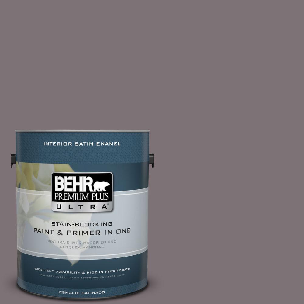 BEHR Premium Plus Ultra 1-gal. #BNC-30 Enigmatic Satin Enamel Interior Paint