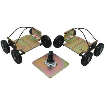 Power Wheels Driveable Snowmobile Dollies - Wide