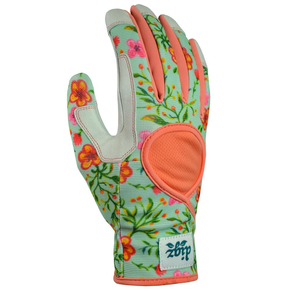 Digz Digz Signature Hi-Dex Large Glove, Women's, Pink
