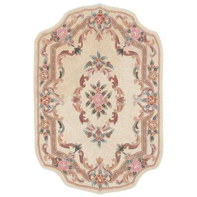 Imperial Ivory 5 ft. x 8 ft. Shape Area Rug
