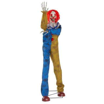 6 ft. Animated Big Top Clown