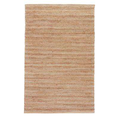 Natural Tan 5 ft. x 8 ft. Solid Area Rug