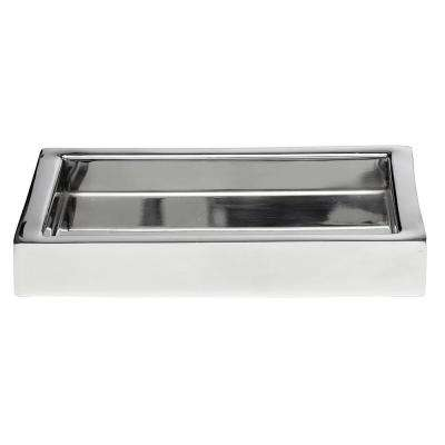 Modern Bath 8 in. Amenity Tray in Stainless Steel