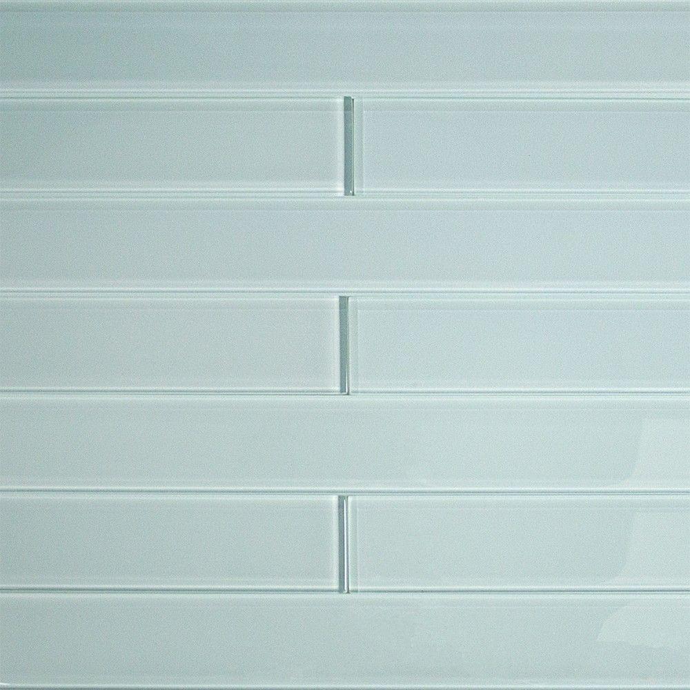 Splashback Tile Contempo Vista Seafoam Green 2 In X 16 8 Mm