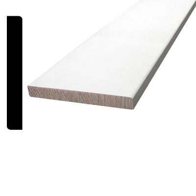 7/16 in. x 3-1/4 in. x 96 in. Primed Pine Finger-Jointed Base Moulding
