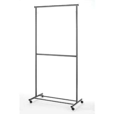 Supreme Garment/Closet Collection 36 in. W x 73 in. H 2-Rod Garment Rack