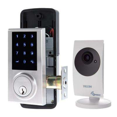 Electronic Touch Screen, Z-wave, Deadbolt with Cam