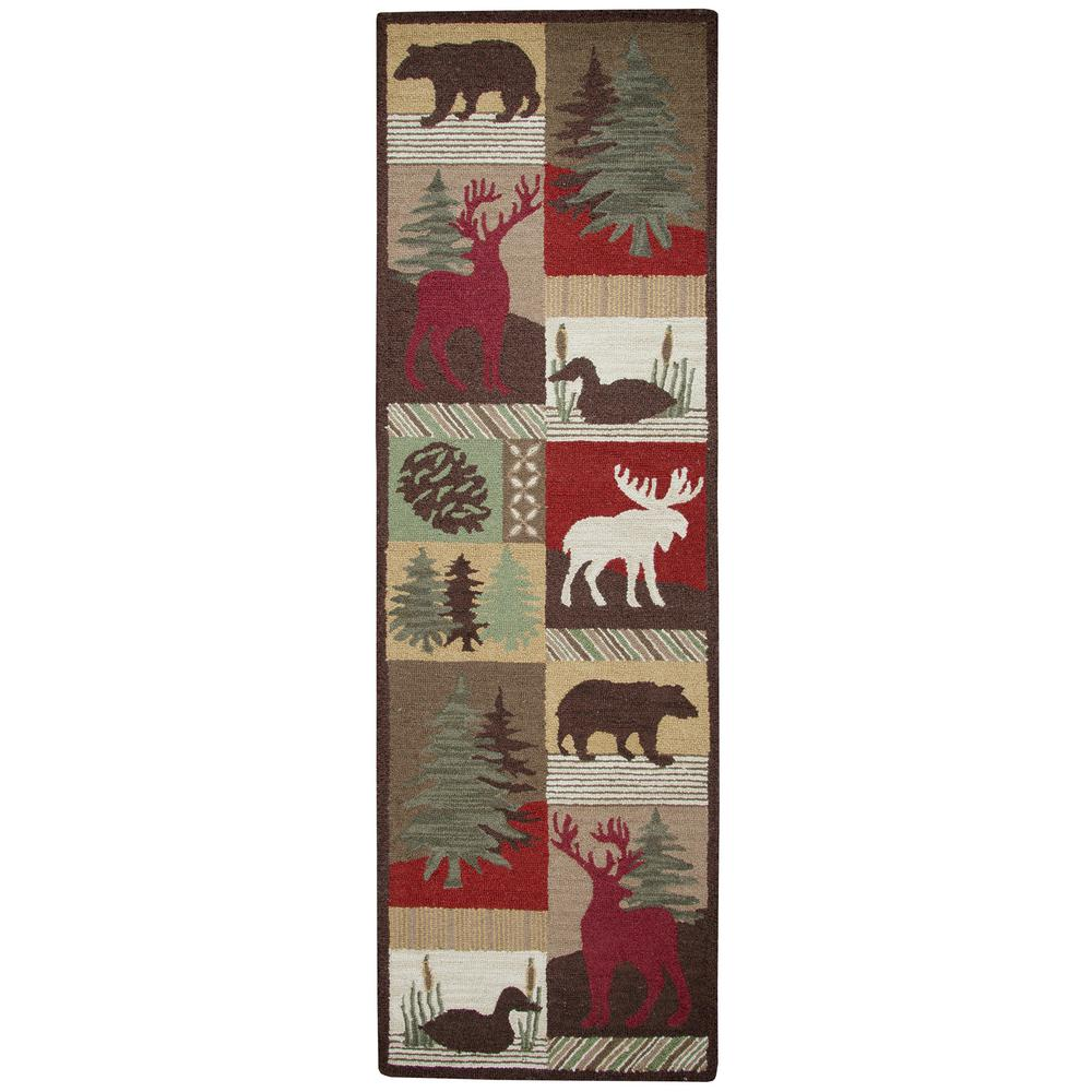 Rizzy Home Country Multicolor 2 ft. 6 in. x 8 ft. Runner