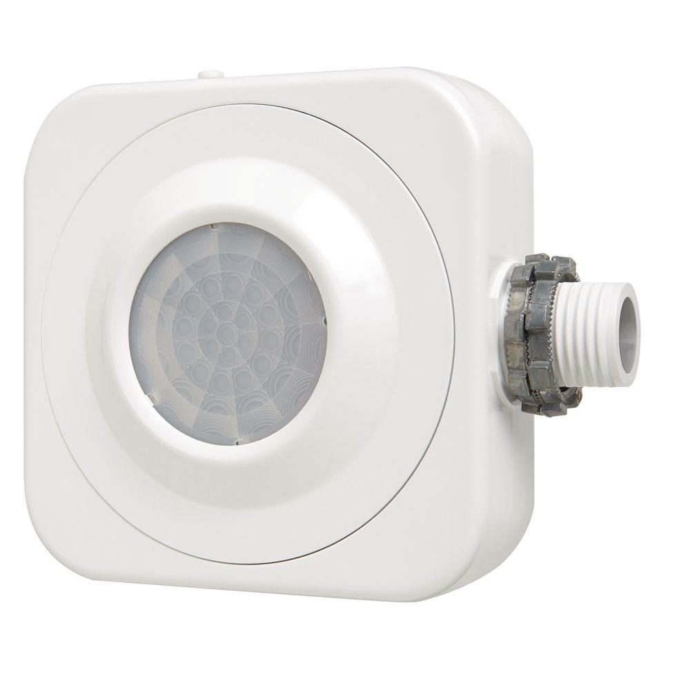 Motion Sensor Fluorescent Light Fixture: Lithonia Lighting 360° Passive Infrared Occupancy Sensor