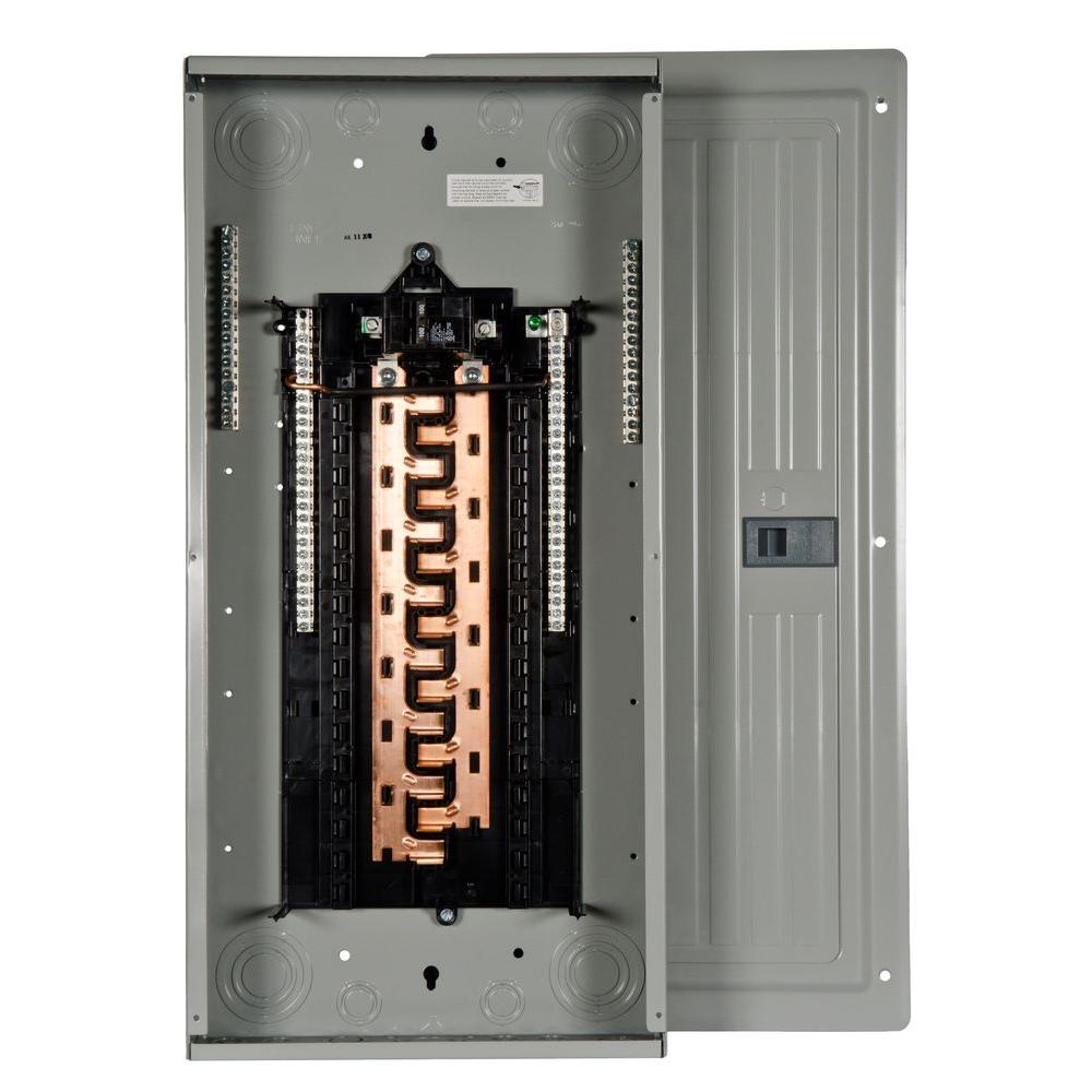 Siemens PL Series 100 Amp 30-Space 30-Circuit Main Breaker Indoor ...