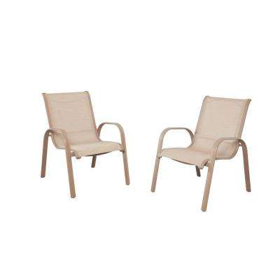 Westin Commercial Contract Grade Sling Patio Dining Chairs 2 Pack