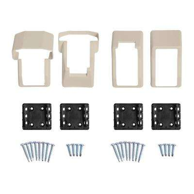 Vanderbuilt/Delray/Bellaire/Vilano Tan Stair Railing Bracket Kit (4-Piece)