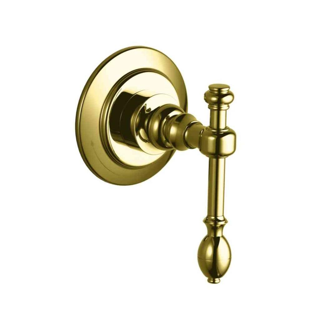 KOHLER IV Georges Brass 1-Handle Volume Control Valve Trim Kit in Vibrant Polished Brass (Valve Not Included)