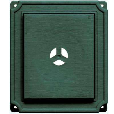 7 in. x 8 in. #028 Forest Green Scalloped Mounting Block
