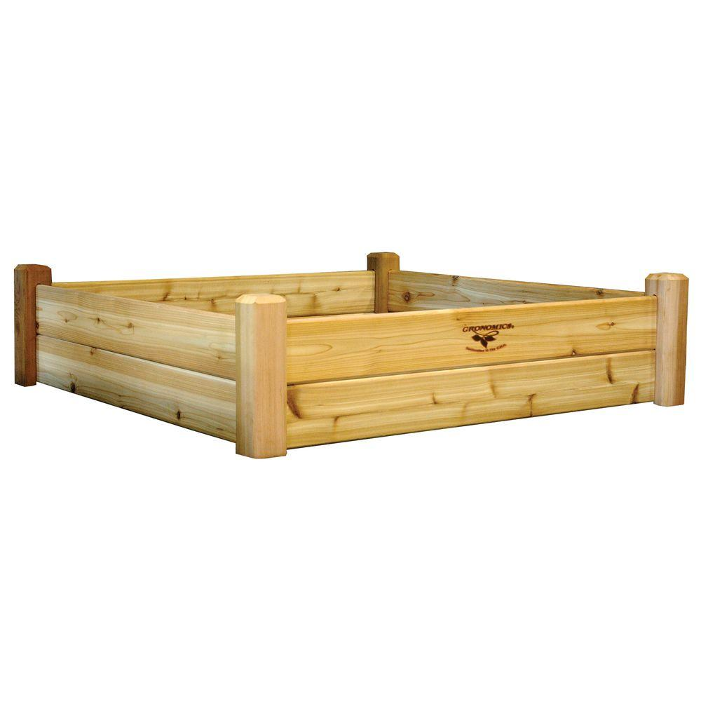 48 in. x 48 in. x 13 in. Raised Garden Bed