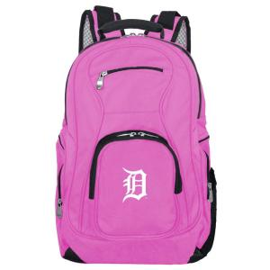 MLB Detroit Tigers 19 in. Pink Laptop Backpack
