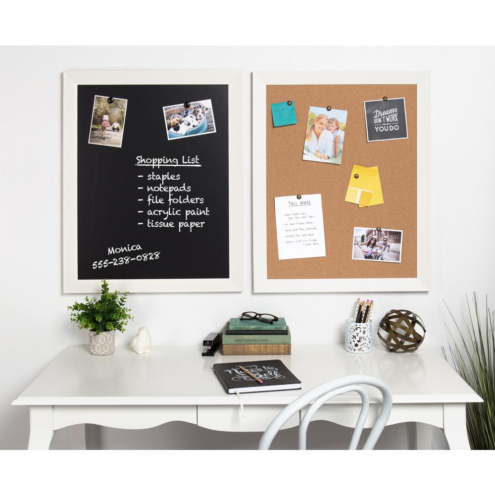 Beatrice Framed Cork Memo Board