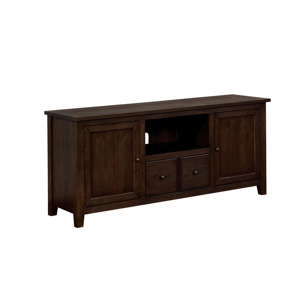 Morrisey Dark Oak 60 in. TV Stand