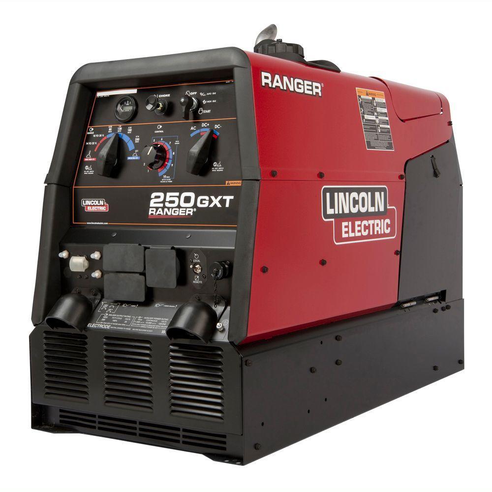 250 Amp Ranger 250 GXT Gas Engine Driven AC/DC Multi-Process Welder, 11 kW Peak Generator (Kohler)