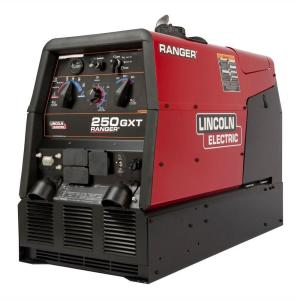 Lincoln Electric 250 Amp Ranger 250 GXT Gas Engine Driven Welder (Kohler), Multi-Process, 11 kW Peak AC... by Loln Electric