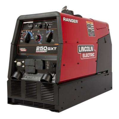 250 Amp Ranger 250 GXT Gas Engine Driven Welder (Kohler), Multi-Process, 11 kW Peak AC Generator Power