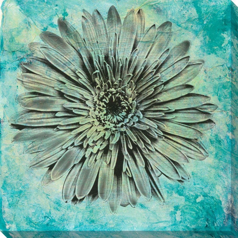 NEP Art 40 in. x 40 in. Evoke IV Oversized Canvas Gallery Wrap