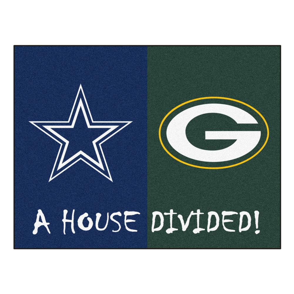 Packers / Cowboys 33.75 In. X