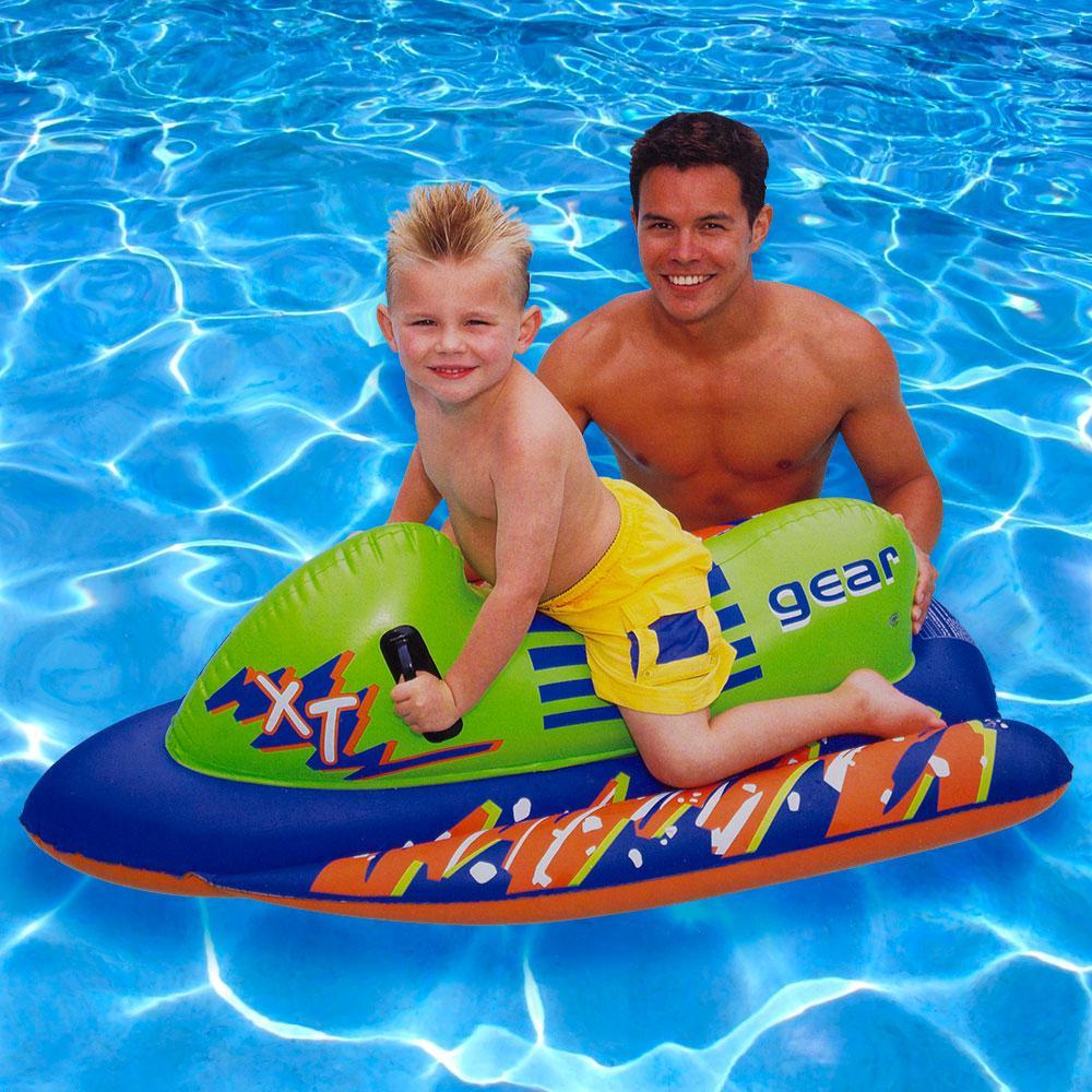 Ski Mobile Inflatable Pool Float