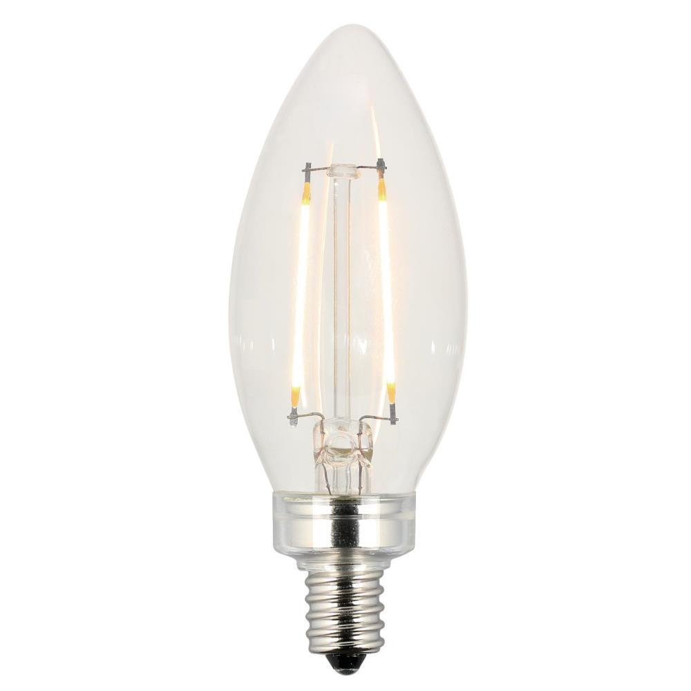 Westinghouse 40w Equivalent Amber St20 Dimmable Filament: Westinghouse 25W Equivalent Clear B11 Dimmable Filament
