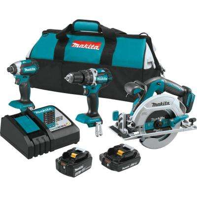 18-Volt LXT Lithium-Ion Brushless Cordless Combo Kit (3-Tool)