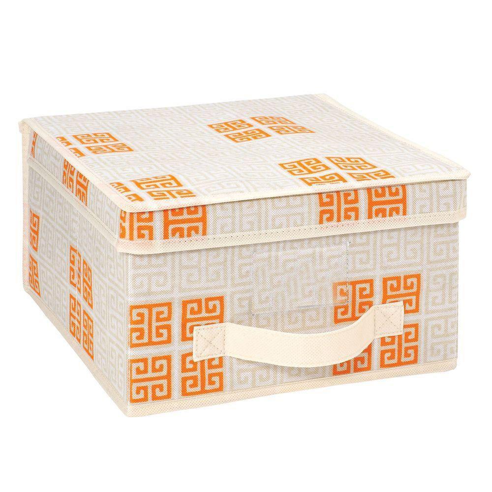 Polypropylene Medium Storage Box in Cameo Key Cream