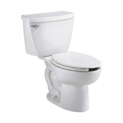 Cadet Pressure-Assisted 2-piece 1.1 GPF Single Flush Elongated Toilet in White, Seat Not Included