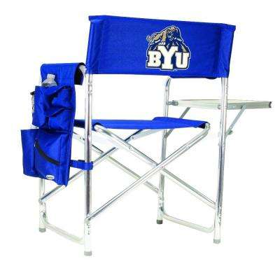 Brigham Young University Navy Sports Chair with Embroidered Logo