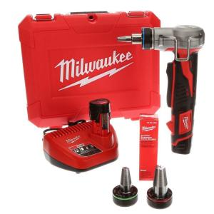 Milwaukee M12 12-Volt Lithium-Ion Cordless ProPEX Expansion Tool Kit with (2)... by Milwaukee