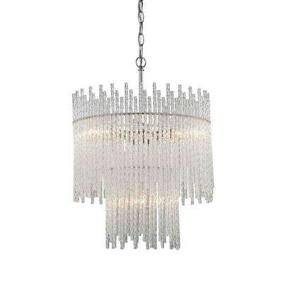 Swizzle 4-Light Polished Chrome Pendant