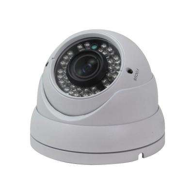 Wired Indoor or Outdoor 720P HD-CVI Vandal Dome Standard Surveillance Camera with 2.8 mm to 12 mm Lens and 36 IR LED