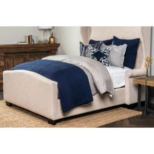 Heirloom Navy Euro Pillow Cover