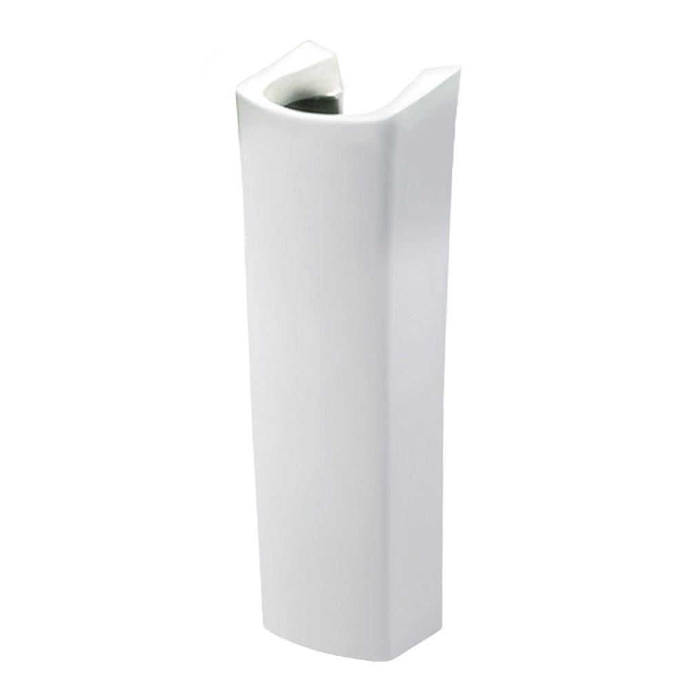 Evanston Pedestal in White