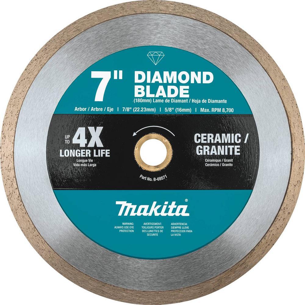 Trade General Purpose 4.5 Diamond Blade 3 Pack