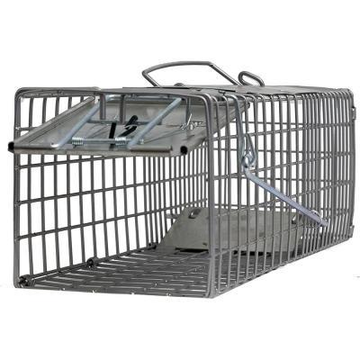 Small One Door (18x5x5) Catch Release Heavy-Duty Humane Cage Live Animal Traps for Small Animals (Pack of 2)