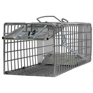 Small One Door (18x5x5) Catch Release Heavy-Duty Humane Cage Live Animal Traps for Small Animals (Pack of 5)