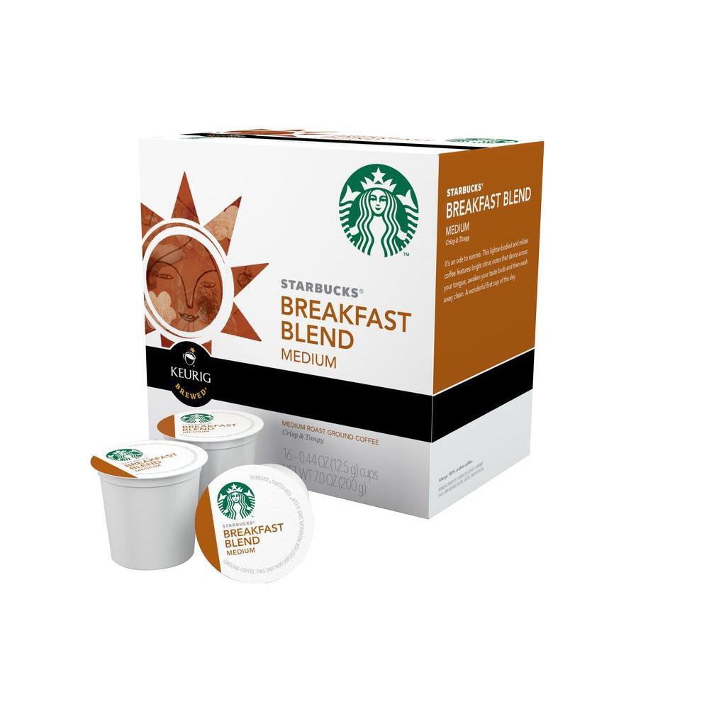 Kcup Pack Starbucks Breakfast Blend 96 Count